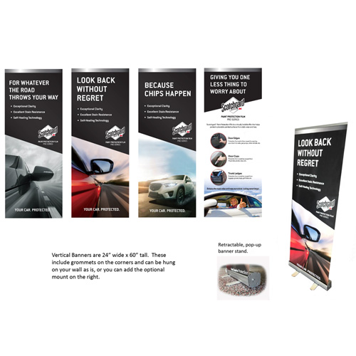 Retractable Banner Stand Star Shield Solutions